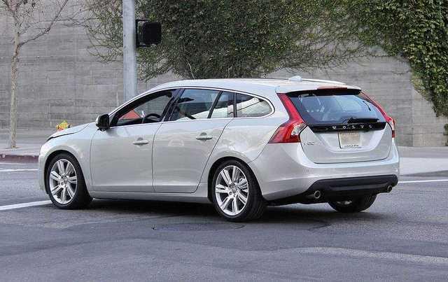 U.S.market to get turboed 2011 Volvo V60 wagon